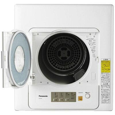 Panasonic 電気衣類乾燥機 ツイン2温風 NH-D603-W