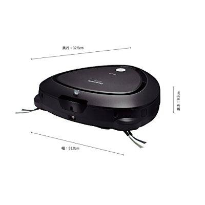 パナソニック ロボット掃除機 RULO MC-RS300-K ブラック