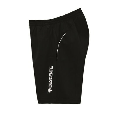 DESCENTE デサント DSP-1102W HALF PANTS カラー:BWH ブラックXホワイト サイズ:M
