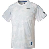 デサント DESCENTE TOUGH T グラフィックハーフスリーブシャツ DAT-5654 WHT