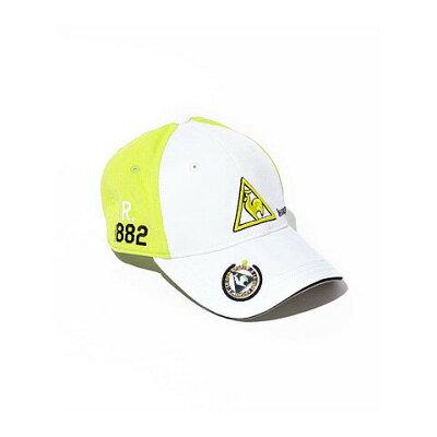 ルコック マーカー付きゴルフ帽 ゴルフキャップ 帽子 Lecoq QG0266