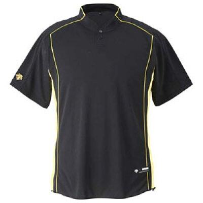 デサント 野球 メンズ シャツ ベースボール シャツ 立衿2ボタンタイプ DB109B DESCENTE 男性用