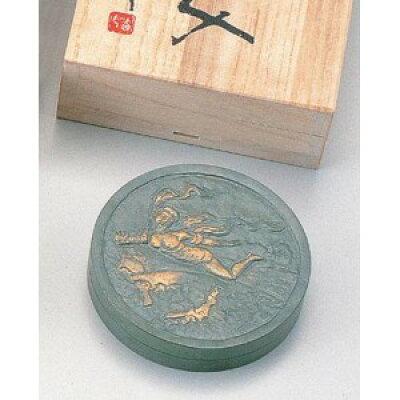 竹中銅器 北村西望作朱肉入 天女 大1613