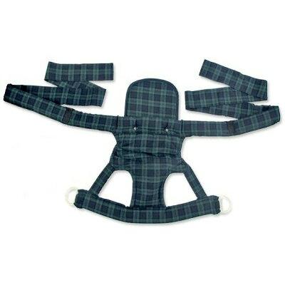 ベビーキャリー 昔ながらのおんぶひも(おんぶ・だっこ兼用子守帯) ブラックウォッチ 50807 グリーン×ネイビー(グリーン)