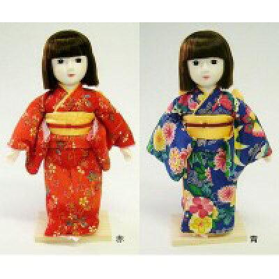 着付けが学べる日本人形 夢さくら 赤・56111 1048681