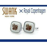 SWANK/スワンク スワンク ロイヤルコペンハーゲン コラボ カフスボタン rcc006