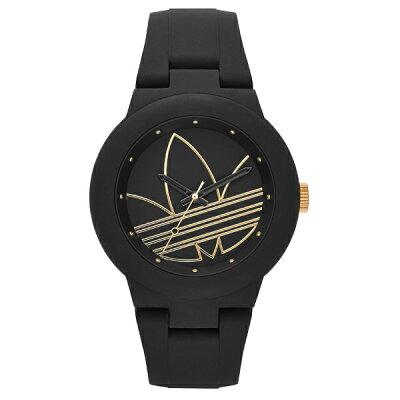 adidas アディダス アディダスオリジナルス 腕時計(ADH3013 ABERDN BK GD STRP) AF3391  フリー