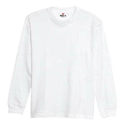 Hanes/ヘインズ シャツ BEEFY-Tシャツ/ビーフィーTシャツ メンズ クルーネック長袖Tシャツ