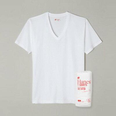 Hanes ジャパンフィット 2枚組 Vネック TシャツJapan Fit 下着 インナー (H5115)