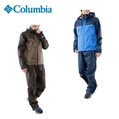 コロンビア Columbia トレッキング メンズ シンプソンサンクチュアリレインスーツ PM0124