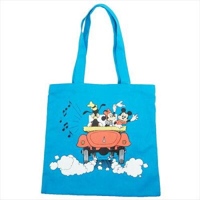 ディズニーミッキー&フレンズ  カラートートバッグドライブ/BL 255077