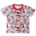 キッズT-SHIRTS 子供用 Tシャツ 101匹わんちゃん ぎっしり 総柄 ディズニー スモールプラネット プレゼント 半袖