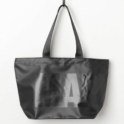 ターポリン ビッグトート トートバッグ マーベル ロゴ MARVEL スモールプラネット 45×33×15cm 手提げかばん