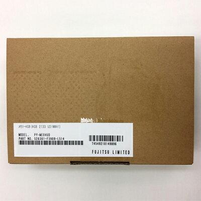 富士通 メモリー4GB 4GB 2133 UDIMM×1 PY-ME04UD