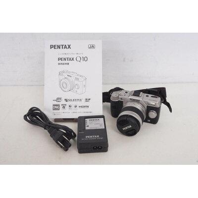PENTAX Q10 ズームレンズキット SILVER