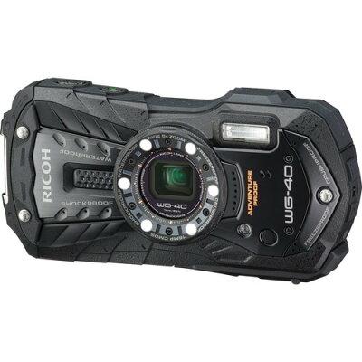 RICOH 防水デジタルカメラ WG WG-40 BLACK