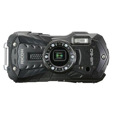 リコー タフネスカメラ WG-60 BK ブラック(1台)