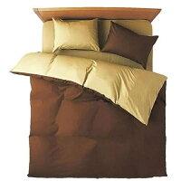小栗 FROM 敷ふとんカバー シングルロングサイズ 綿100%/105×215cm/ブラウン