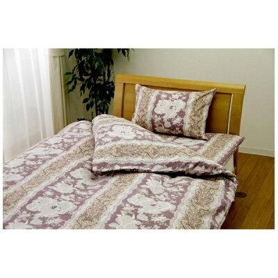 小栗 モデラート敷ふとんカバー シングルサイズ 綿100%/105×205cm/ピンク