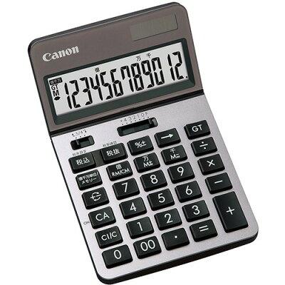 キヤノン 電卓 シルバー KS-1220TU-SLH(1台)