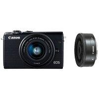 Canon  EOS M100 Wレンズキット BK