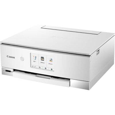 キヤノン インクジェット複合機 PIXUS TS8230 WHITE ホワイト(1コ入)