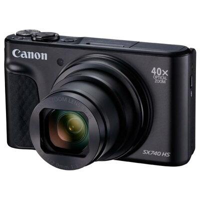 キヤノン デジタルカメラ PowerShot SX740 HS BK ブラック(1コ入)