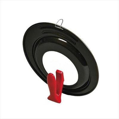 ロッソ・ブラック シリコーン加工 窓付スタンドパンカバー 24-28cm用(1コ入)