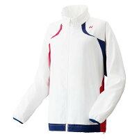57008/011 ヨネックスレディースウォームアップシャツ カラー:ホワイト サイズ:S