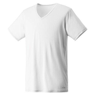 YONEX ユニハンソデシャツ 44002 色 : ホワイト サイズ : XO