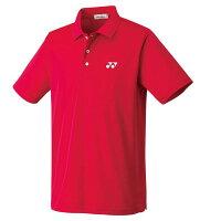YONEX ユニポロシャツ スタンダードサイズ 10300 色 : クリスタルレッド サイズ : M