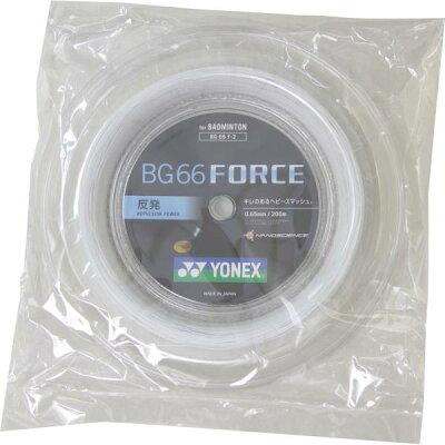YONEX BG66フォース 200M BG66F2 色 : ホワイト W