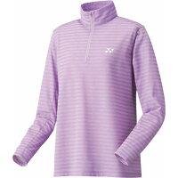 YONEX ウィメンズスムースハーフジップシャツ 38040 色 : ライトパ-プル サイズ : S