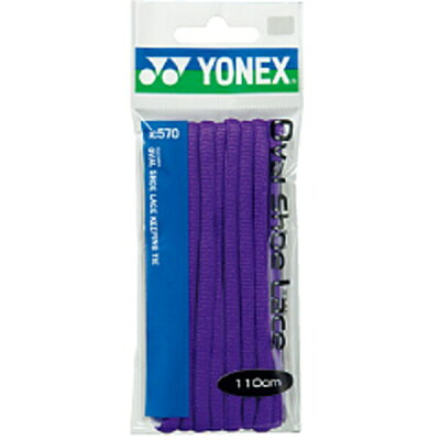 YONEX オーバルシューレース AC570 色 : パープル サイズ : 130