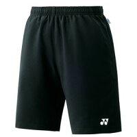 YONEX 15048/007 ヨネックス ユニハーフパンツ スリムフィット カラー:ブラック サイズ:L