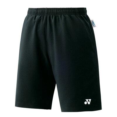 YONEX 15048/007 ヨネックス ユニハーフパンツ スリムフィット カラー:ブラック サイズ:O