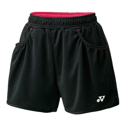 YONEX 25019/007 ヨネックス ウィメンズショートパンツ カラー:ブラック サイズ:SS