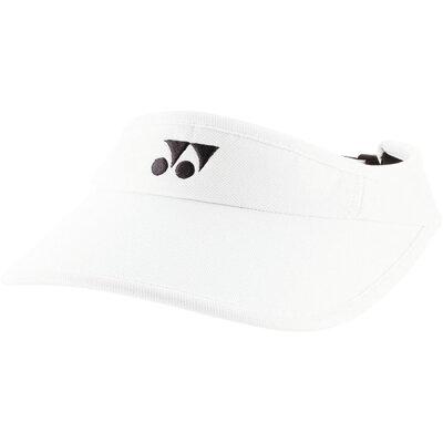 YONEX ウィメンズベリークールサンバイザー 40036 色 : ホワイト