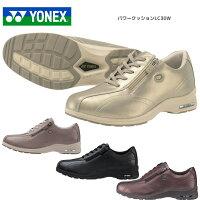 YONEX ヨネックス パワークッション レディース ウォーキングシューズ LC30W 4.5E シャンパン SHWLC30W