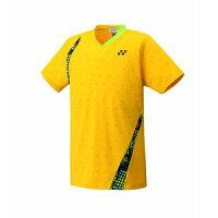 YONEX/ヨネックス 12142-450 UNIシャツ フィットスタイル コーンイエロー