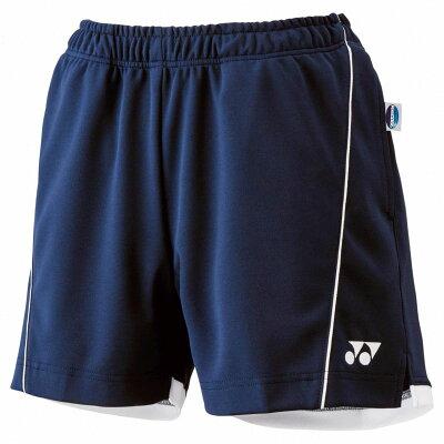 Yonex/ヨネックス 25022-19 ウィメンズ ニットショートパンツ ネイビーブルー