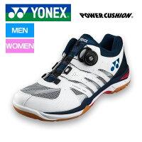YONEX/ヨネックス SHB820MD-122 バドミントンシューズ パワークッション 820ミッド ブライトピンク