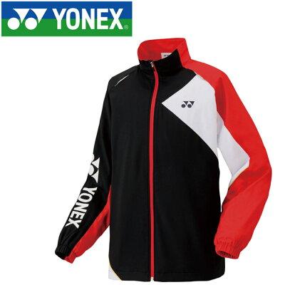 YONEX ヨネックス Uni ユニ 裏地付ウインドウォーマーシャツ 70057 ソフトテニスウェア