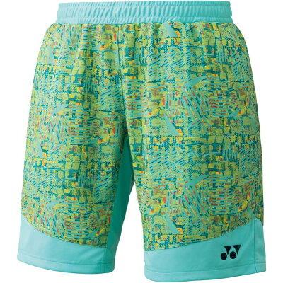 Yonex テニスウェア ニットハーフパンツ 15061 ミントブルー S