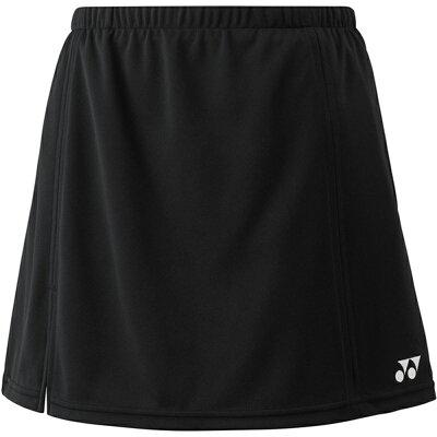 Yonex レディース テニスウェア スカートインナースパッツ付 26046 ブラック M