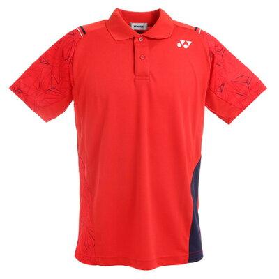 Yonex 男女兼用 テニスウェア UNI ポロシャツ 10221 サンセットレッド XO