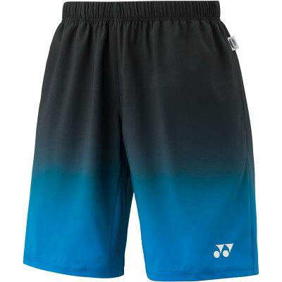 ヨネックス メンズハーフパンツ 15067 色 : ブラック/ブルー サイズ : S