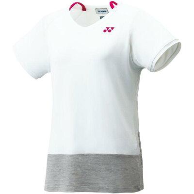 Yonex レディース テニスウェア ベリークールTシャツ 16343 ホワイト M
