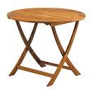 アカシアフォールディングテーブル 直径90cm