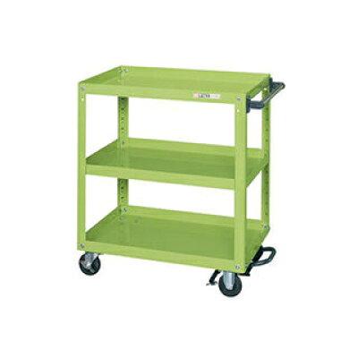 SAKAE/サカエ スーパーワゴン フットブレーキ付 EKR-200BR